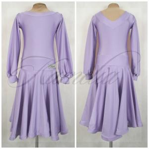 Платье Rt бифлекс сиреневый р38