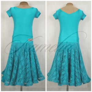 Платье Rt бифлекс + гипюр стрейч р38