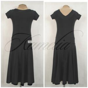 Платье Rt бифлекс черный р38