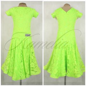 Платье Rt гипюр салатовый р40