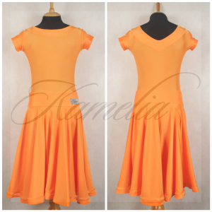 Платье Rt бифлекс оранжевый р40
