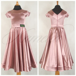 Комплект Rt сатин-вельвет розовая пудра №29 р30