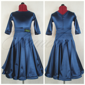 Комплект Rt сатин-вельвет темно синий №16 р34