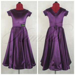 Комплект Rt сатин-вельвет фиолетовый №19 р34