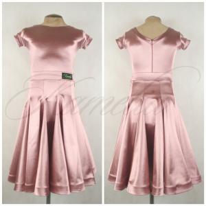 Комплект Rt сатин-вельвет розовая пудра №29 р38