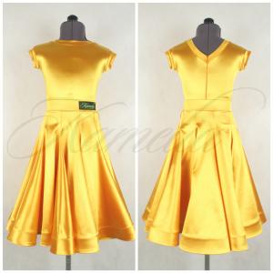 Комплект Rt сатин-вельвет золотисто желтый №21 р32