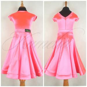 Комплект Rt сатин-вельвет ярко-розовый №13 р30