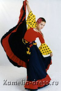 Costumes for Flamenco Dances